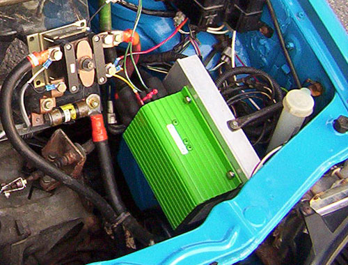 Curtis 1204-412 motor controller - electric car photos
