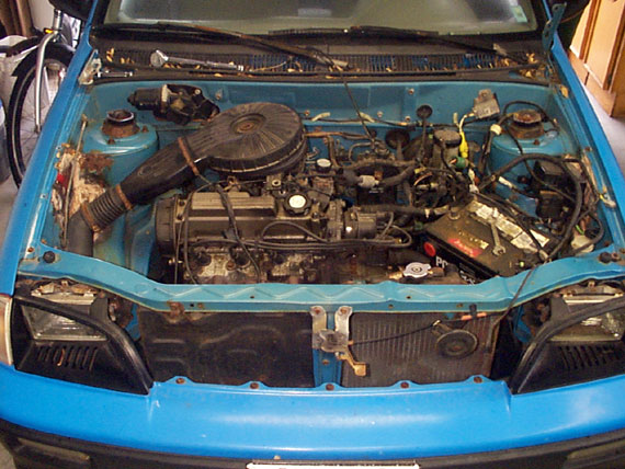 metro engine bay electric car photos forkenswift com rh forkenswift com 1995 Geo Metro Wiring-Diagram Geo Metro Engine Mount Diagram