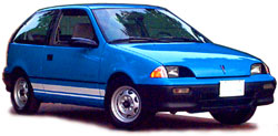 1993 Geo Metro electric car