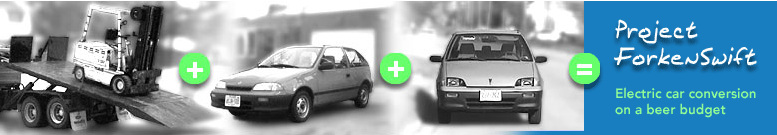 ForkenSwift: electric car conversion on a beer budget